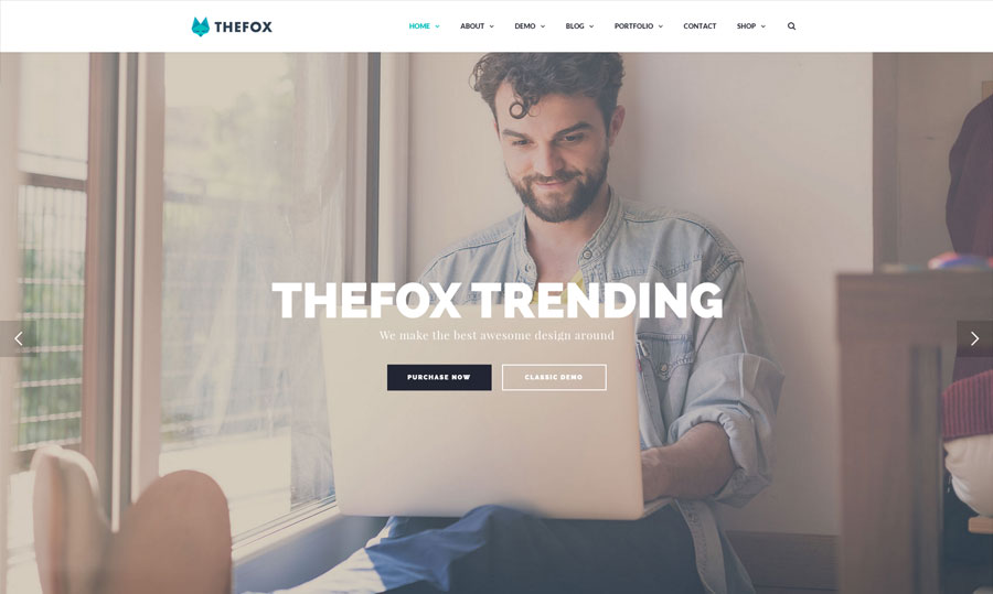 Buy TheFox WordPress